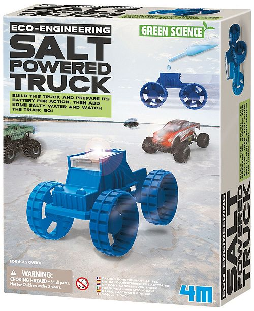 Areyougame Green Science - Eco-Engineering Salt Powered Truck