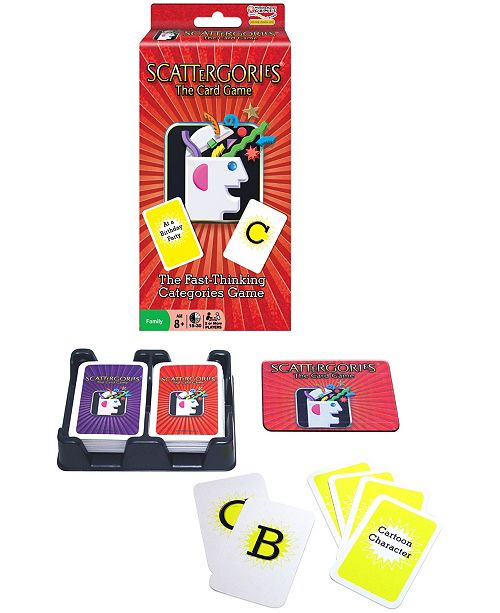 Winning Moves Scattergories - The Card Game