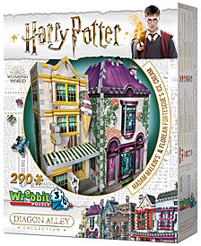 Harry Potter Daigon Alley Collection - Madam Malkin's and Florean Fortescue's Ice Cream 3D Puzzle - 290 Piece