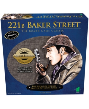 221B Baker Street - The Master Detective Game - Deluxe Edition