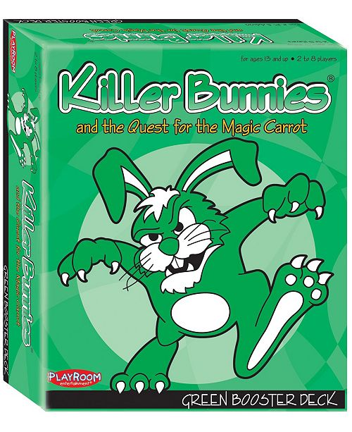 Playroom Entertainment Killer Bunnies and the Quest for the Magic Carrot- Green Booster Deck (6)