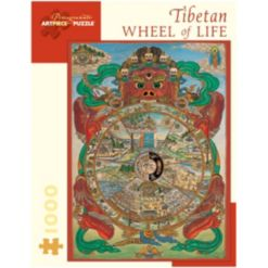 Tibetan Wheel of Life Jigsaw Puzzle- 1000 Pieces