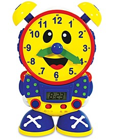 Telly The Teaching Time Clock Primary Colors