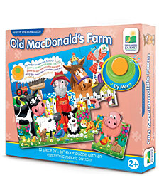 My First Sing-Along Puzzle - Old MacDonald's Farm- 12 Pieces