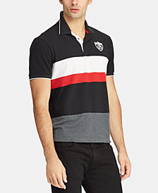 Polo Ralph Lauren Men's P-Wing Striped Mesh Polo