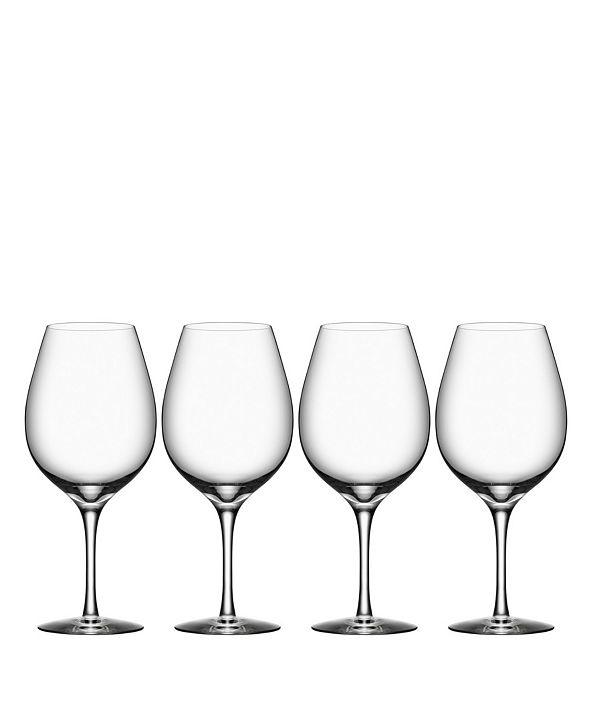 Orrefors More Wine Xl Glasses, Set of 4