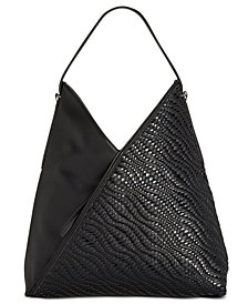 I.N.C. Blakke Woven Hobo, Created for Macy's