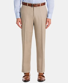 Lauren Ralph Lauren Men's UltraFlex Classic-Fit Tan Wool Pants