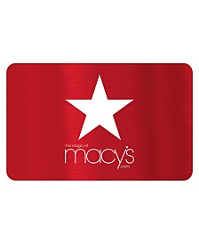 Macy's Red Star E-Gift Card