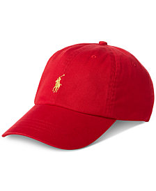 Polo Ralph Lauren Men's Twill Cotton Baseball Cap