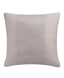 Eva Longoria Black Label Abergine Collection 16X16 Decorative Pillow