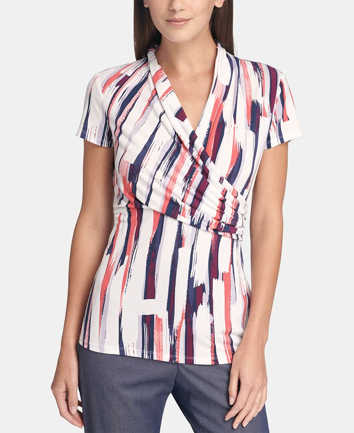 DKNY - Ruched Top