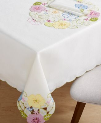 """Serenity Garden 60"""" X 84"""" Tablecloth"""