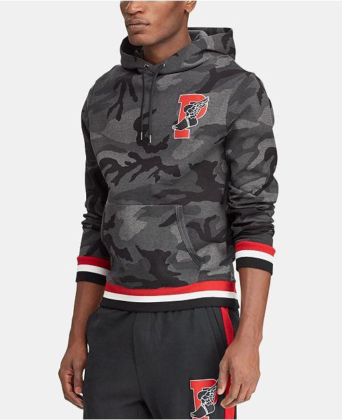 Polo Ralph Lauren Men's P-Wing Camo Hoodie, Created for Macy's