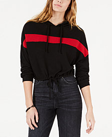 Polly & Esther Juniors' Chest-Stripe Hoodie