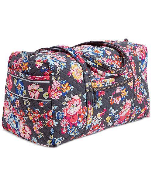 956a0bcbb24c Vera Bradley Iconic Travel Duffle   Reviews - Handbags   Accessories ...