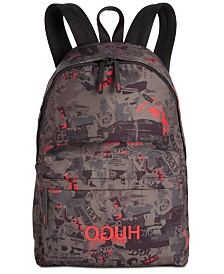 Hugo Boss Men's Record Printed Backpack