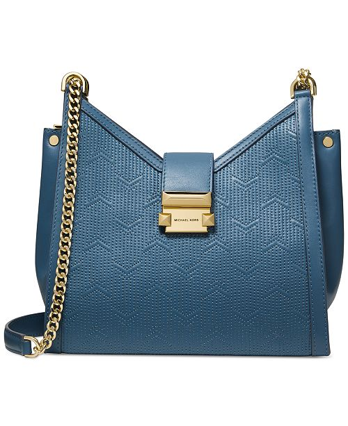 Michael Kors Whitney Quilted Chain Shoulder Tote