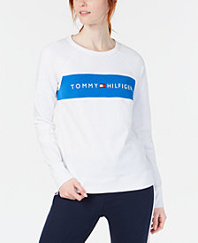Tommy Hilfiger Sport Colorblocked Graphic-Print T-Shirt
