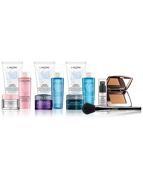 bf1b062f74f ... worth up; Lancome GET MORE! Spend $75 and Choose a Skincare or Makeup  Trio, worth up ...
