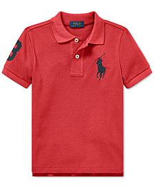 Polo Ralph Lauren Little Boys Cotton Mesh Polo