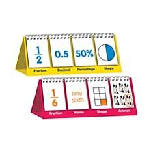Educational Flip Card Set Fractions