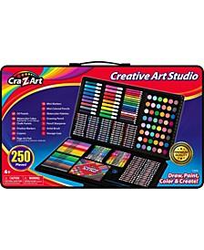 Cra Z Art 250 Piece Creative Art Studio