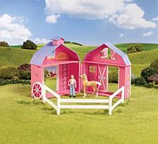 Stablemates Horse Crazy Pocket Barn