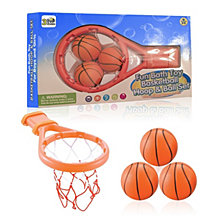3 Bees and Me Bath Toy Basketball Hoop and Balls Set