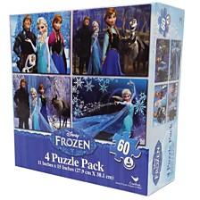 Disney Frozen 4 Basic Puzzle Box with Rope Handle