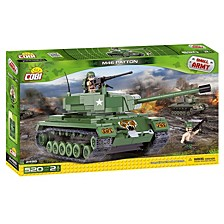 Small Army M46 Patton Tank 520 Piece Construction Blocks Building Kit