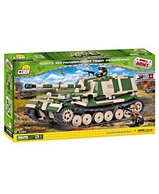 Small Army World War II Sdkfz 184 Panzerjager Tank 515 Piece Construction Blocks Building Kit