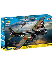 Small Army World War II Vickers Wellington MK. IC Airplane 550 Piece Construction Blocks Building Kit