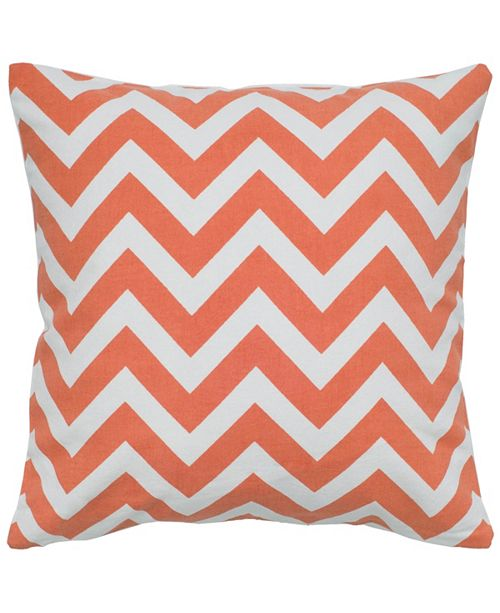 "Rizzy Home 18"" x 18"" Chevron Down Filled Pillow"
