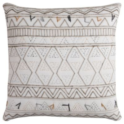 "22"" x 22"" Tribal Global Traveller Pillow Down Filled"