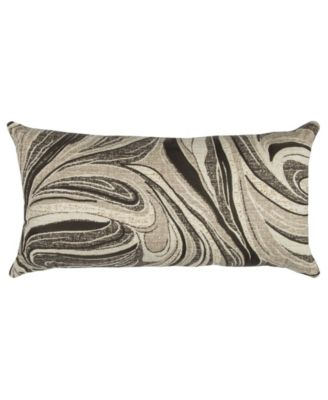 "14"" x 26"" Abstract Design Down Filled Pillow"