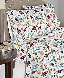 Luxury Weight Cotton Flannel Sheet Set