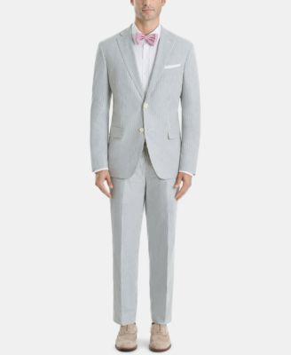 Men's Classic-Fit Stripe Cotton Shorts