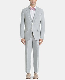 Men's Ultra-Flex Classic-Fit Stripe Suit Separates