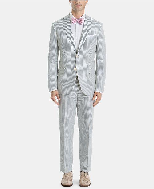 Lauren Ralph Lauren Men's Ultra-Flex Classic-Fit Stripe Suit Separates