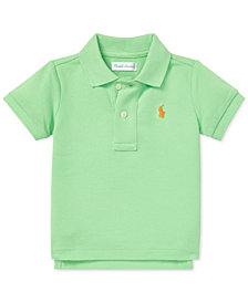 Polo Ralph Lauren Baby Boys Cotton Mesh Polo
