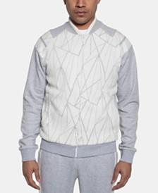 Sean John Men's Fragmented Sweater Jacket