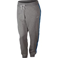 Nike Plus Size Sportswear Logo Joggers (Dark Grey Heather)