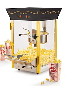 Vintage 8-Ounce Popcorn Cart - 53 Inches Tall