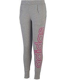 adidas Toddler Girls Linear Jogger Pants