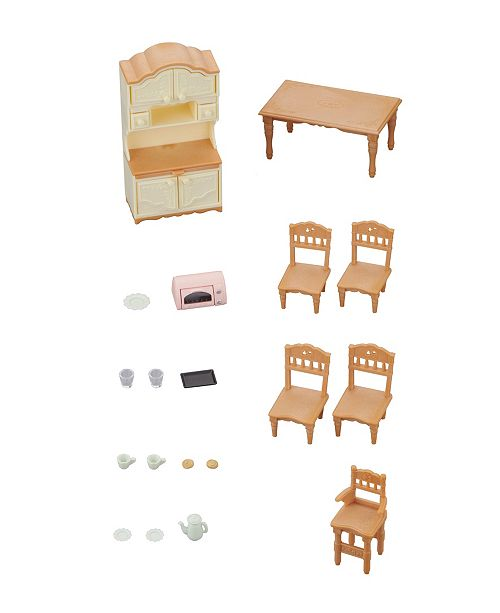 Toys Calico Critters Dining Room Set