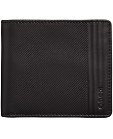 Hugo Boss Men's Subway Millerighe Leather Coin Wallet