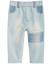 First Impressions Baby Boys Patchwork Jeans, Created for Macy's
