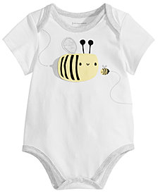 First Impressions Baby Boys & Girls Bees Bodysuit, Created for Macy's