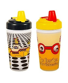 2-Pack of The Beatles Sea of Holes and Yellow Sub Sippy Cup by Daphyl's